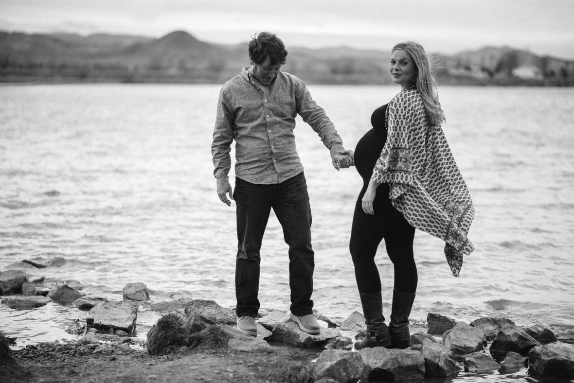 Outdoor maternity photos Boulder and Denver